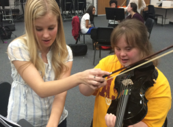 LMSVEF Grantee Research Proposal: Teaching Music in a Full Inclusion Class: Does it Work?