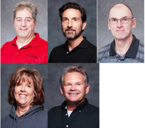 Joel Judd; Betty Ann Rember; Tony Pellegrini; Brian Ludlow; John Meisner