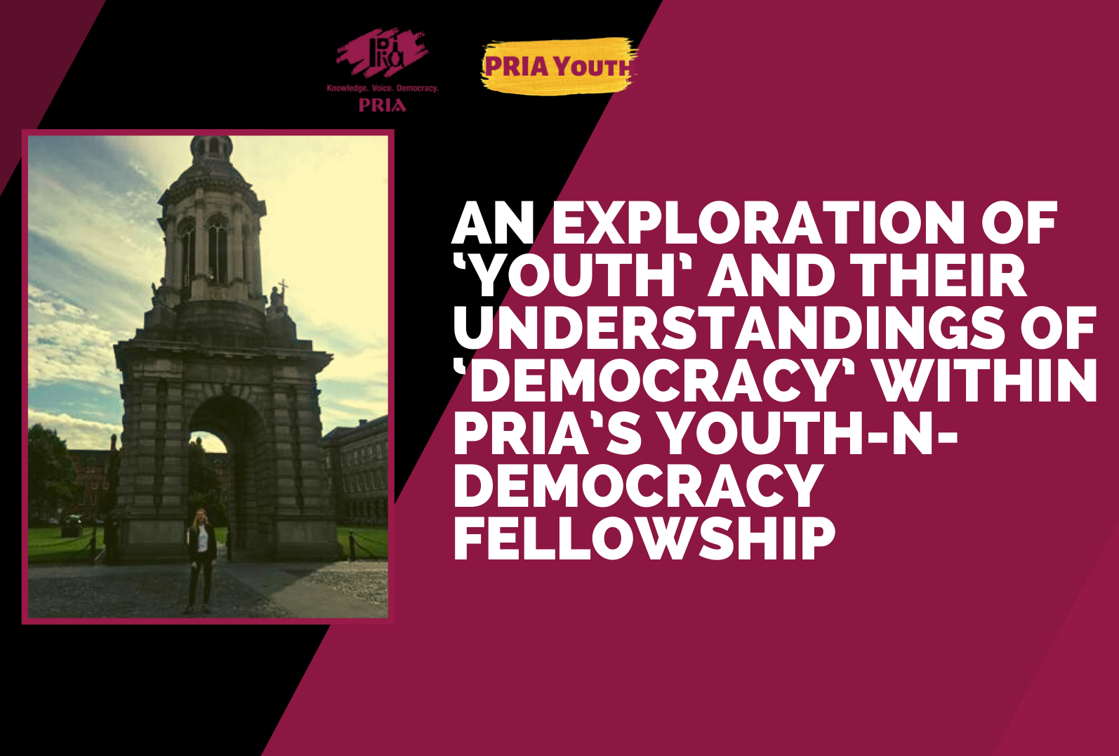 An exploration of 'youth' and their understandings of 'democracy' in a youth program